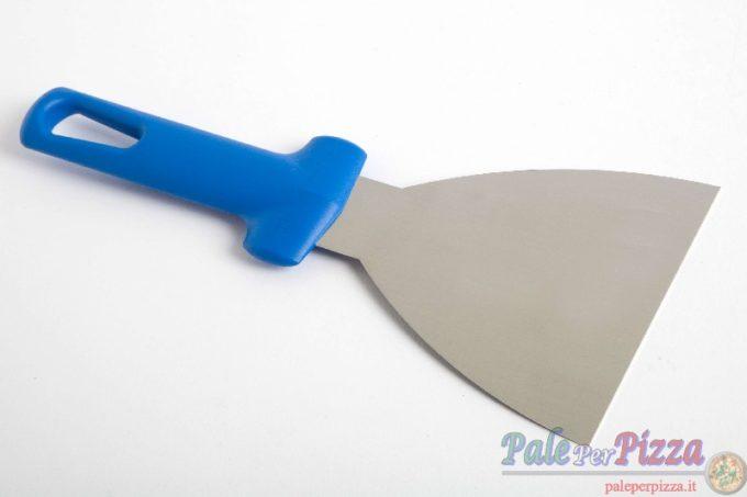 Spatola triangolare inox 11,5 x 11cm linea pro