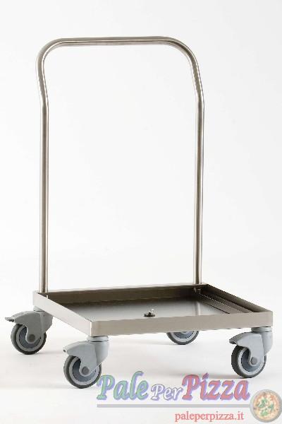Portaceste per lavastoviglie 50x50 in acciao inox