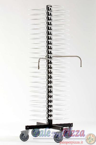Carrello portapiatti da 96 piatti 24-31 cm