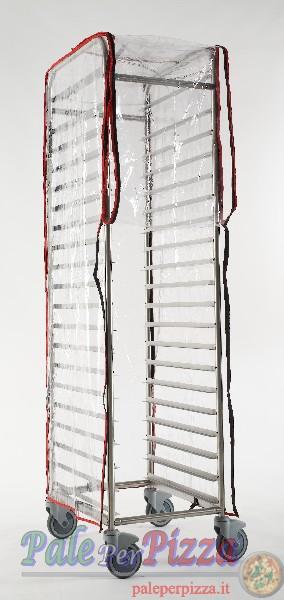 Copertura in polietilene trasparente per carrello SI-246R e SI-264R