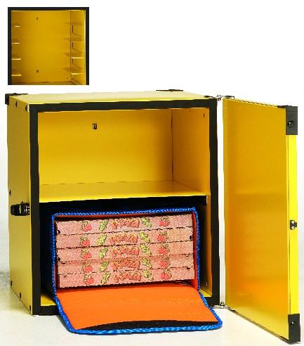 Box pizza coibent. 2 borse termiche 45 o 8 cartoni da 50 cm