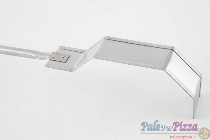 Spostabraci in acciaio inox manico 150 cm