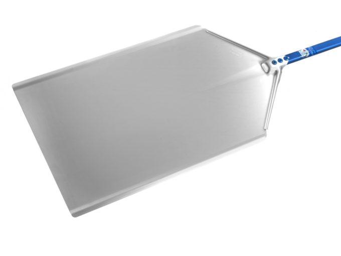 Pala pizza a metro in alluminio anodizzato 40x60 cm manico 60 cm