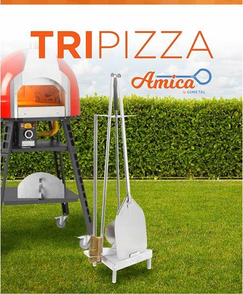 Kit Tripizza120 - 30x30 manico 120cm-3051