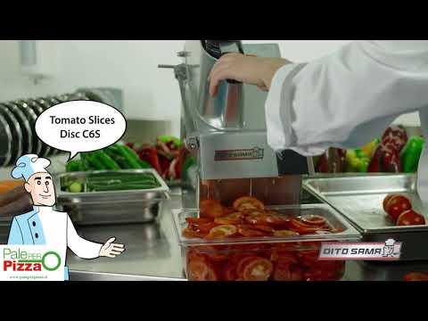 Video Presentazione Tagliaverdure da banco
